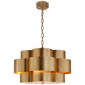 Triple Scallop Chandelier