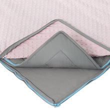 10 lb Weighted Blanket in Light Pink