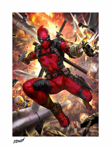 Pre-Order: Print: Deadpool Heat-Seeker