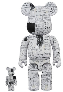 Basquiat Ver 3 Bearbrick Set