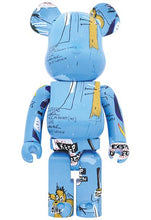 Load image into Gallery viewer, Basquiat Ver 4 1000% Bearbrick