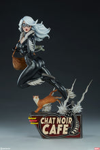 Load image into Gallery viewer, Black Cat Statue