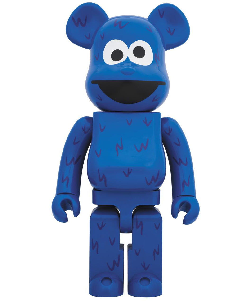 Cookie Monster 1000% Bearbrick