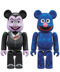 Count Von Count and Grover 100% 2-Pack