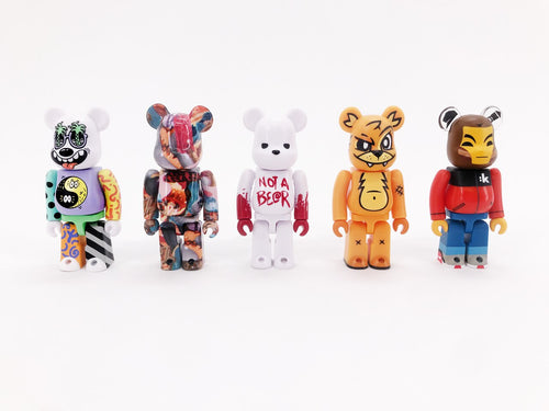 DCon 100% Bearbrick 5-Pack