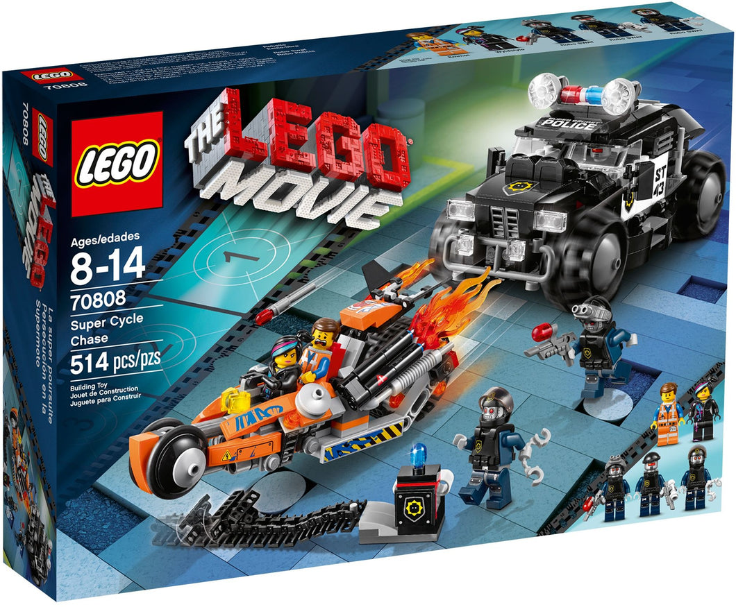 Lego Movie: Super Cycle Chase 70808