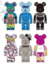 Load image into Gallery viewer, Macau 2019 WF Fashion Bearbrick Set