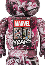 Load image into Gallery viewer, Marvel 80 Years Bearbrick Set