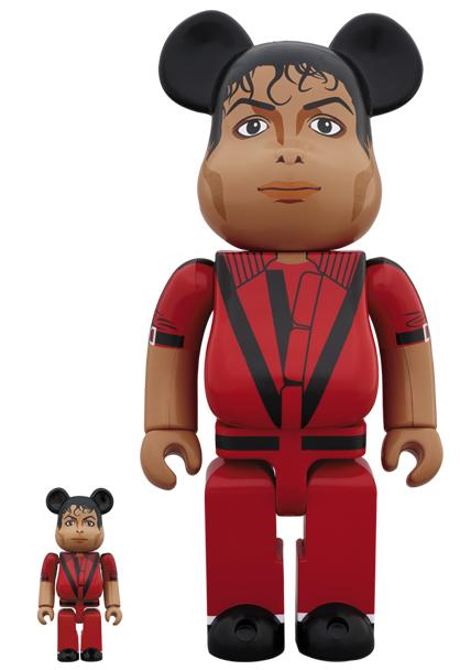 Michael Jackson Thriller Bearbrick Set
