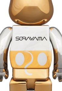 Mickey x Sorayama Bearbrick Set