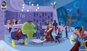 Pre-Order: Print: Party at Avengers Tower