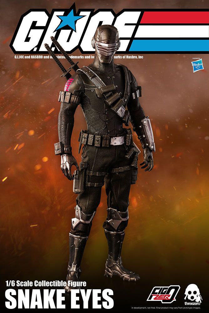 PRE-ORDER: SNAKE EYES SIXTH SCALE