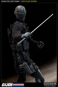 SNAKE EYES and TIMBER SIXTH SCALE