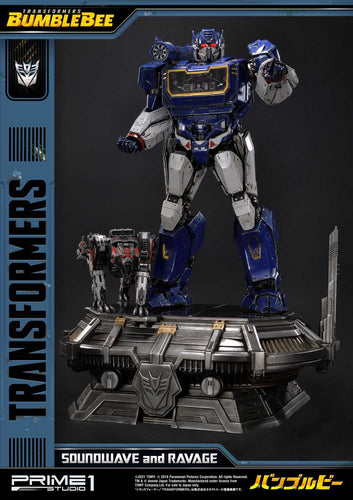 Pre-Order: Soundwave and Ravage