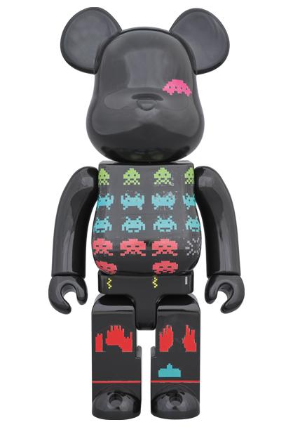 Space Invaders 400% Bearbrick