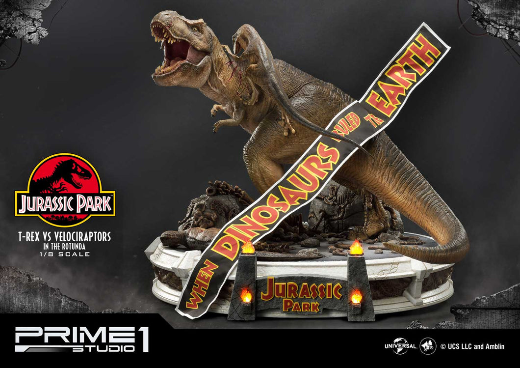 Pre-Order: T-Rex vs Raptors in the Rotunda