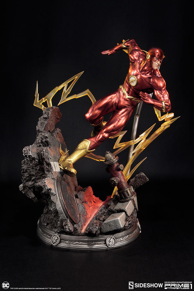 The Flash New 52 Statue