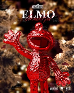 PRE-ORDER: XXRAY PLUS ELMO RED CHROME