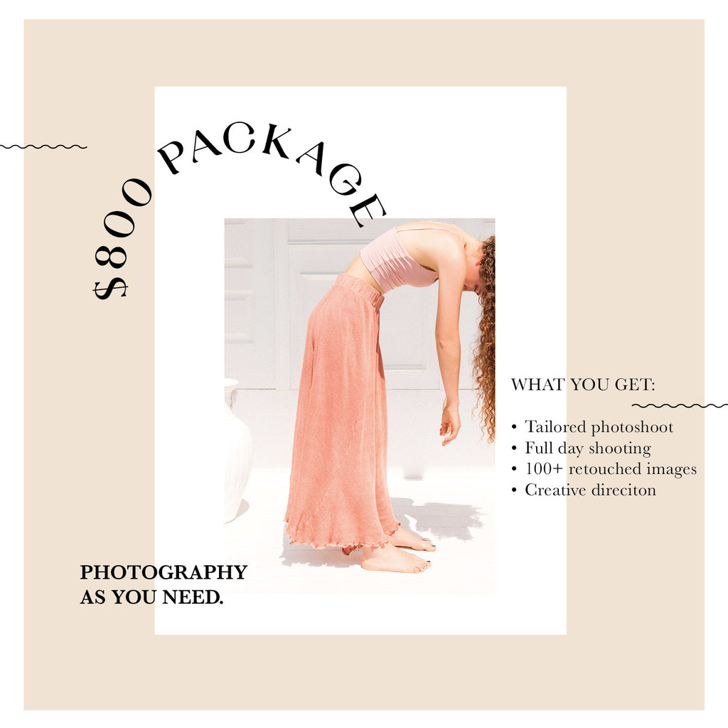 FULL DAY PHOTOGRAPHY PACKAGE