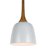 POLK 20 PENDANT OAK / WHITE