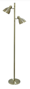 TORRES 2 FLOOR LAMP ANT.BRASS