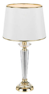 DIANA TABLE LAMP GOLD / CRYSTAL / WHITE