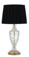 SIGRID TABLE LAMP 40wE27max D340 H650 GOLD CLEAR BLACK