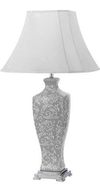 DONO 40 TABLE LAMP 60wE27 D400 H775 GREY / WHITE
