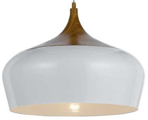 POLK 46 PENDANT 60wE27max D460 H380 OAK / WHITE