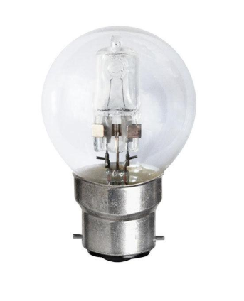 Halogen Fancy Round Globe- 42w