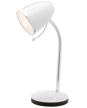 SARA E27 TABLE LAMP- White