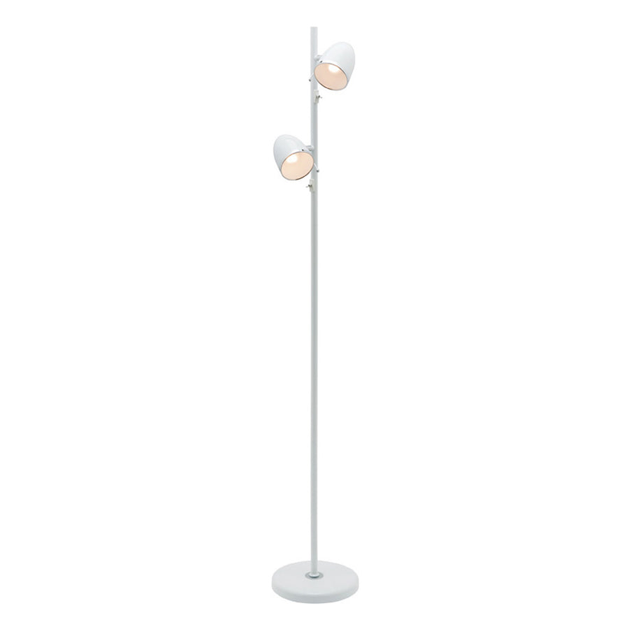 SARA 2 LIGHT FLOOR LAMP WHITE