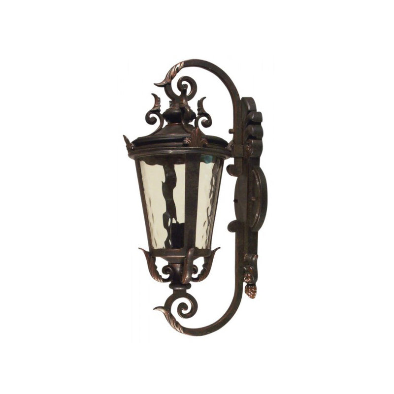 Albany 1 Light Small & Medium Outdoor Wall Mount Light - Antique Bronze
