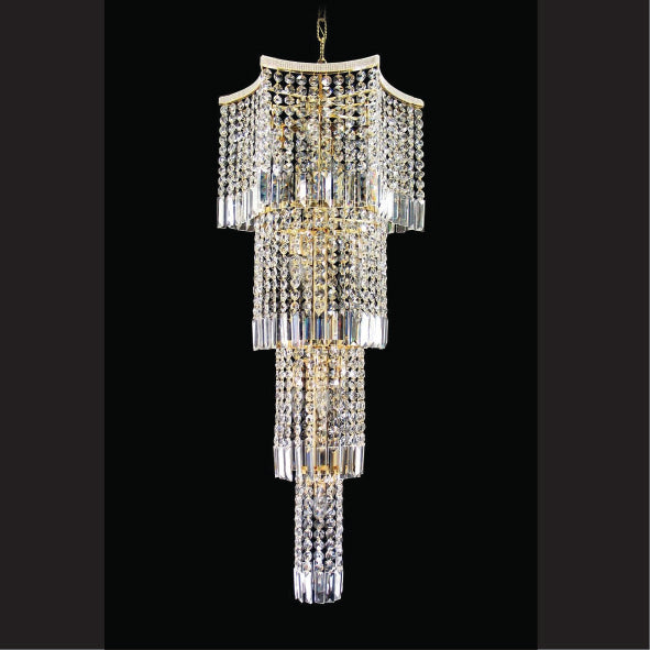 Crystal Chandelier 8081-17-18-3598