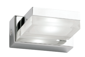 CUBE 1LT VANITY LIGHT