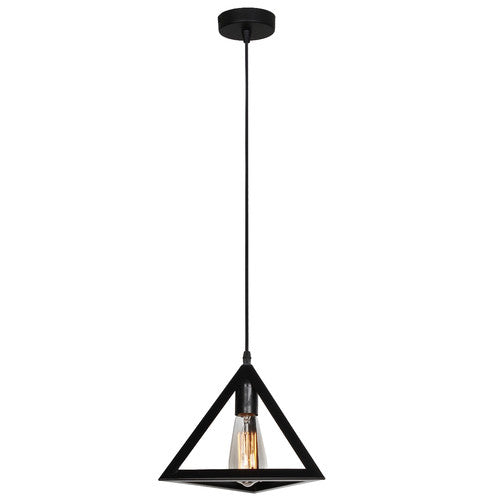 EQUATOR 1 Light Black Pendant