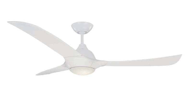 "Mercator Europe 52"" ABS Blades Designer Ceiling Fan with LED Light"
