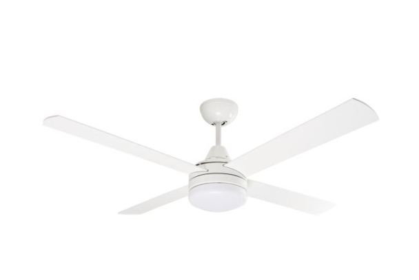 "Cardiff 52"" DC 4 Plywood Blades Ceiling Fan with B22 Light Kit & Remote"