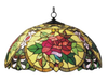 Red Camellia Hanging Lamp
