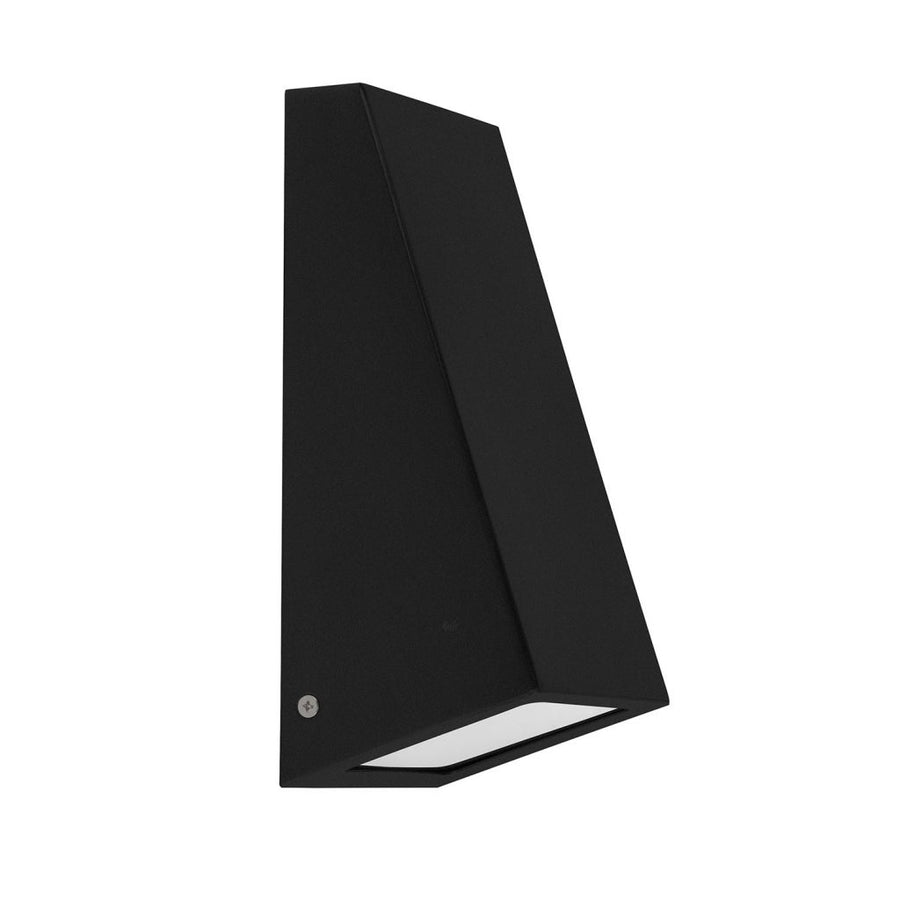 Square Wall Wedge Poly Powder Coated Black