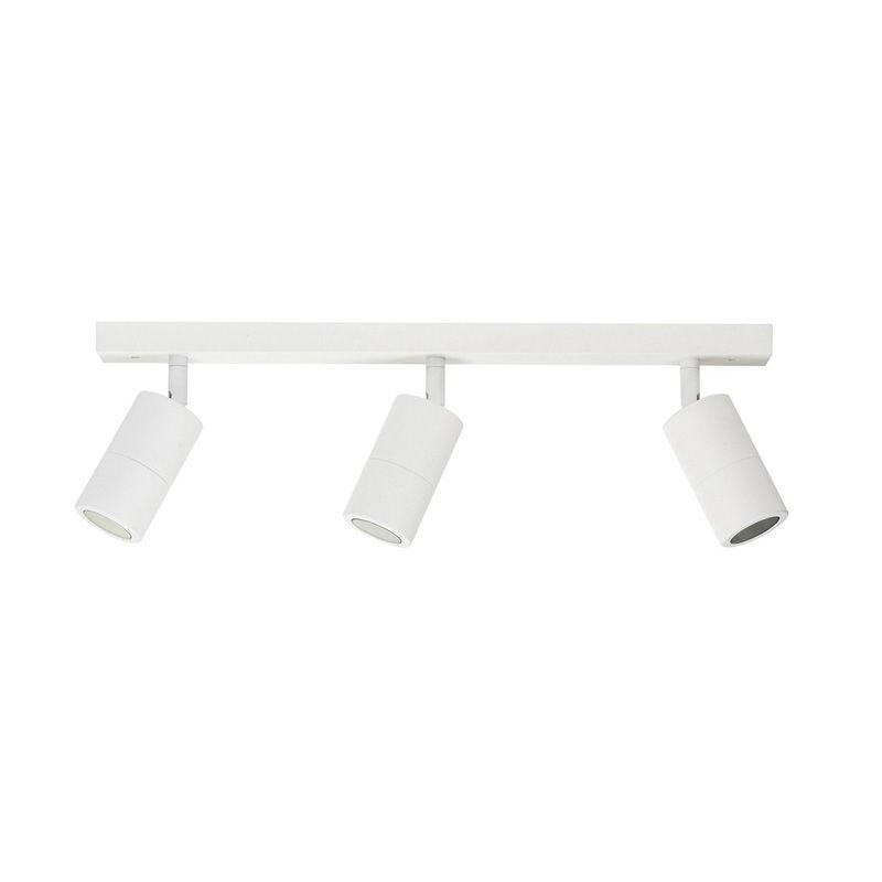 3 Light Spot Bar White Exterior