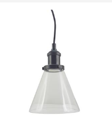 P1720SMALL HAMPTON 1 LIGHT PENDANT
