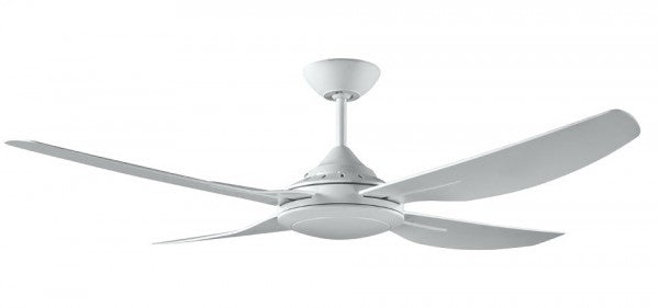 ROYALE II DC - 52/1320mm Energy Saving DC ABS 4 Blade Ceiling Fan with Remote Control - White
