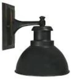 TERMINAL EXT. WALL BRACKET BRONZE