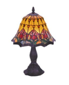 Red Tulip Small Table Lamp