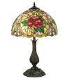 Red Camellia Table Lamp
