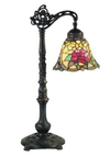 Red Camellia EDW. Table Lamp