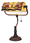 Red Tulip Bunkers Lamp