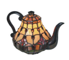 Red Tulip Teapot Lamp