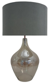 Blown Glass Base & Shade Table Lamp